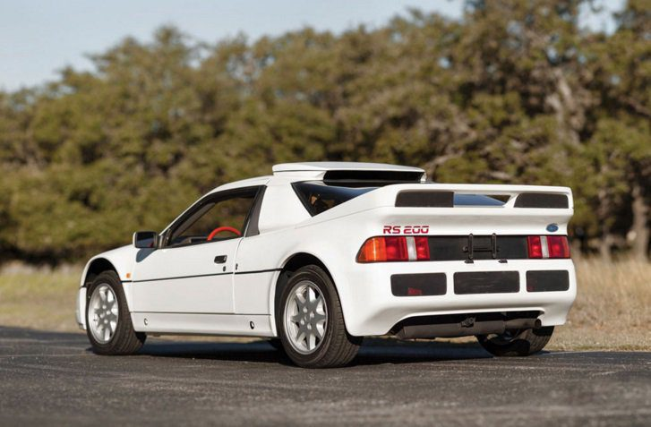 Ford RS 200 1986 - back
