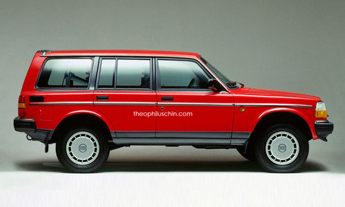 Volvo 240 SUV - side
