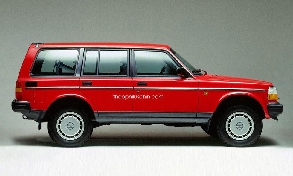 Volvo 240 SUV - side