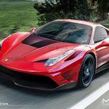 Ferrari 458 Italia Misha Designs - render