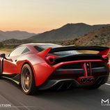 Ferrari 458 Italia Misha Designs - boceto
