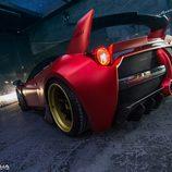 Ferrari 458 Italia Misha Designs - back