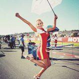 Paddock Girls del GP de Valencia 2015 - Tatana Sediva en Ducati Pramac