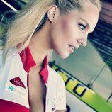 Paddock Girls del GP de Valencia 2015 - Tatana Sediva con Ducati
