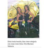 Paddock Girls del GP de Valencia 2015 - Azafatas Páginas Amarillas