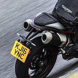 Gama Triumph Speed Triple 2016 - rear
