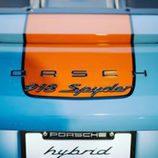 Porsche 918 Spyder Gulf - Detalle