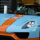 Porsche 918 Spyder Gulf - Frontal 3