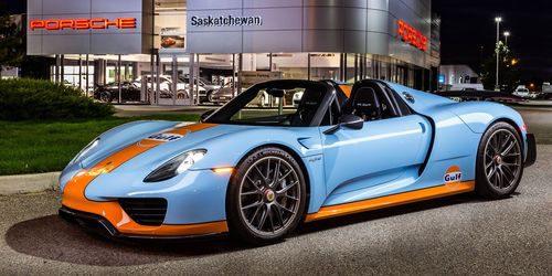 Porsche 918 Spyder Gulf - Lateral 4