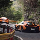 McLaren P1 Taiwan - road