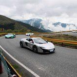 Reunión McLaren en Taiwan - caravana