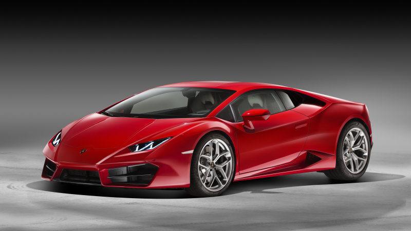 Lamborghini Huracán LP580-2 - delantera