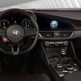 Alfa Romeo Giulia Quadrifoglio US-specs - interior
