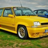 Jarama puertas abiertas 2015 - Renault 5 Turbo front