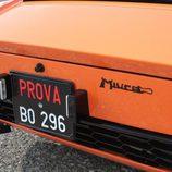 Lamborghini Miura P400 The Italian Job - placa