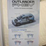 Expoelectric 2015 - Mitsubishi Outlander Phev cartel informativo