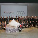 Audi R18 LMP1 presentacion de temporada