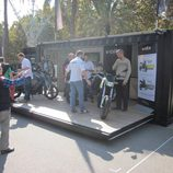 Stand Volta Motorbikes durante Expoelectric 2015