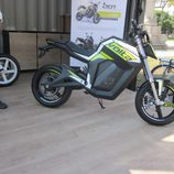 Volta Motorbikes - bcn sport verde lateral