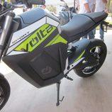 Volta Motorbikes - bcn sport verde lateral izquierdo