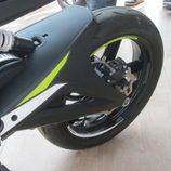 Volta Motorbikes - bcn sport verde, zona posterior izquierda