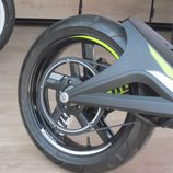 Volta Motorbikes - bcn sport verde, zona posterior derecha