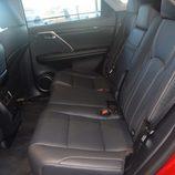Lexus RX 450H - Plazas traseras