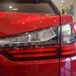 Lexus RX 450H - Detalle óptica trasera