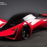 Ferrari Top Design School Challenge - Futurismo