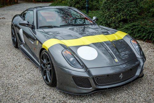 Ferrari 599 GTO 'Tour de France' livery 2011
