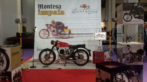 Stand Altaya en Autoretro Barcelona 2015 - Montesa Impala 175 Sport
