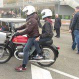 Motoclub Montesa Impala en Autoretro Barcelona 2015 rodando