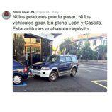 Policía local Las Palmas tweets - Mal estacionado