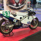 Vista posterior Honda RS 250cc año 1989