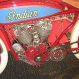 Vista motor Indian Daytona Racing 1000cc del año 1919