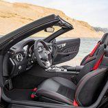 Mercedes SLC interior negro