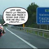 Memes MotoGP 2015 - Petrucci deja pasar a Rossi