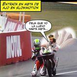 Memes MotoGP 2015 - Niklas Ajo y Dios