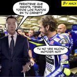 Memes MotoGP 2015 - Matías Prats y Valentino Rossi