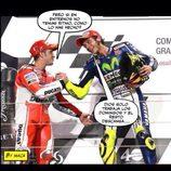 Memes MotoGP 2015 - Dios solo trabaja el domingo