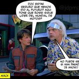Memes MotoGP 2015 - Regreso al futuro