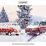 Felicitaciones navideñas 2015 - volkswagen Transporter