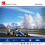 Felicitaciones navideñas 2015 - Sauber