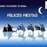 Felicitaciones navideñas 2015 - Peugeot