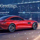 Felicitaciones navideñas 2015 - Mercedes-Benz AMG GT