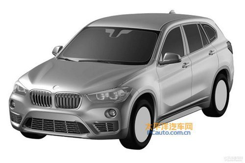 BMW X1 LWB - render