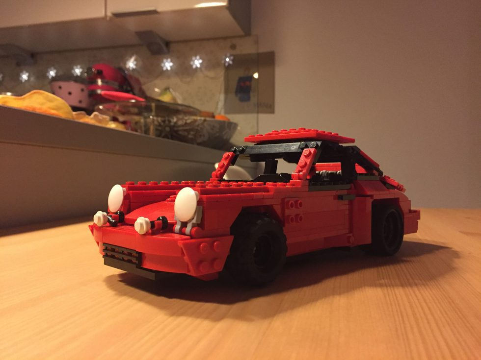 Porsche 911 Lego - PAwel
