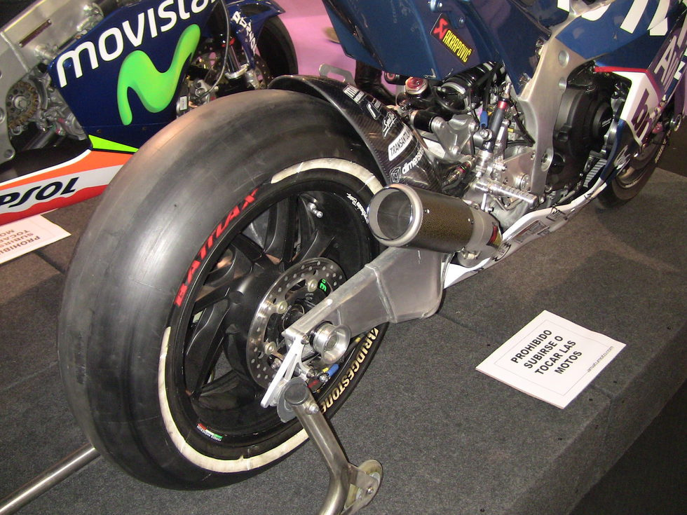 Amatumoto - Tren trasero Honda RS 250cc Dani Pedrosa