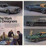 Lincoln Continental Mark V coupe 1978 - promo