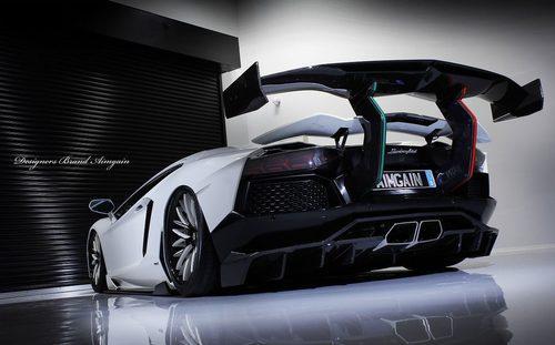 Lamborghini Aventador Aimgain - Trasera